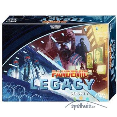 [ZWAAR BESCHADIGD] Pandemic Legacy Blue (ENG)