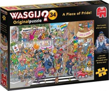 [GEMIDDELD BESCHADIGD] Wasgij Original Puzzel (#34): Een stukje Pride! (1000)