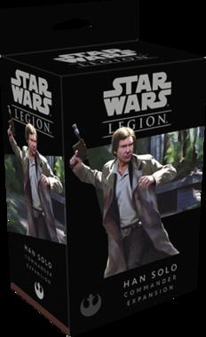 [GEMIDDELD BESCHADIGD] Star Wars Legion: Han Solo Commander Expansion