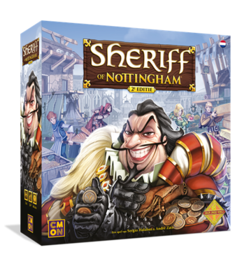 [LICHT BESCHADIGD] Sheriff of Nottingham [Engelse versie]