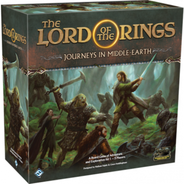 [LICHT BESCHADIGD] Lord of the Rings: Journeys in Middle-earth