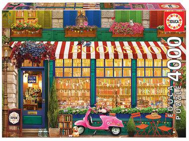 [LICHT BESCHADIGD] Vintage Bookshop - Puzzel (4000)