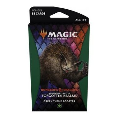 MTG: Adventures in the Forgotten Realms - Theme Booster (Green)