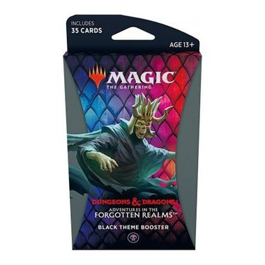 MTG: Adventures in the Forgotten Realms - Theme Booster (Black)