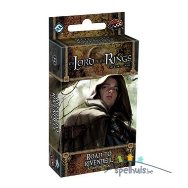 [LICHT BESCHADIGD] The Lord of the Rings: The Card Game – Road To Rivendell