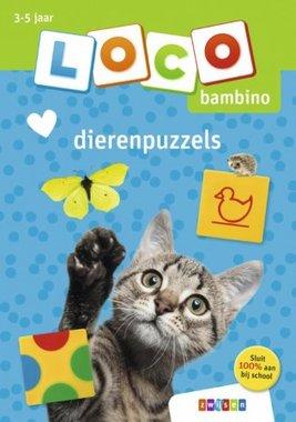 Loco Bambino Boekje - Dierenpuzzels