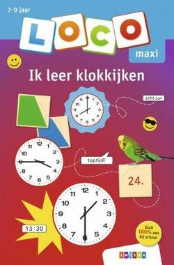 Loco Maxi Boekje - Ik leer klokkijken