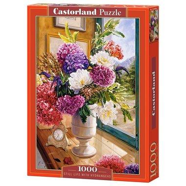 Still Life with Hydrangeas - Puzzel (1000)