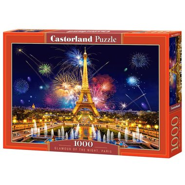Glamour of the Night, Paris - Puzzel (1000)