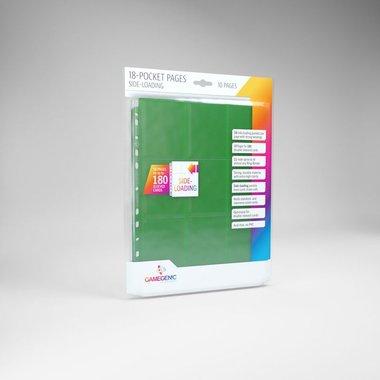 Sideloading 18-Pocket Pages Green (10)