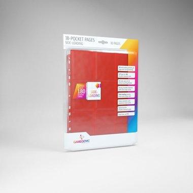 Sideloading 18-Pocket Pages Red (10)