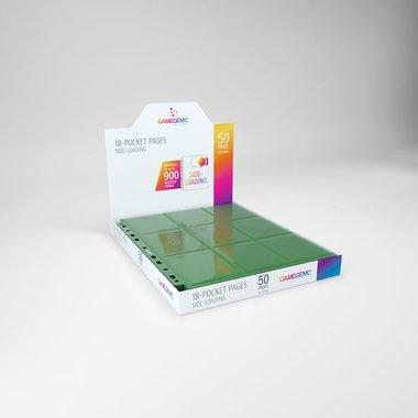 Sideloading 18-Pocket Pages Green (50)