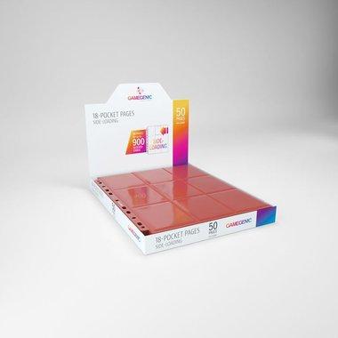 Sideloading 18-Pocket Pages Red (50)
