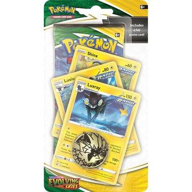 Pokémon: Sword & Shield - Evolving Skies (Premium Checklane Blister - Luxray)