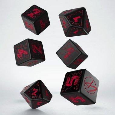 Cyberpunk Red Essential Dice Set (7)