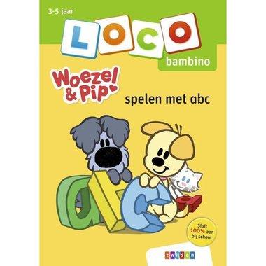 Loco Bambino Boekje - Woezel en Pip: Spelen met abc