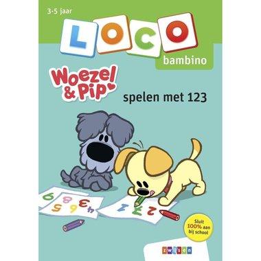 Loco Bambino Boekje - Woezel en Pip: Spelen met 123