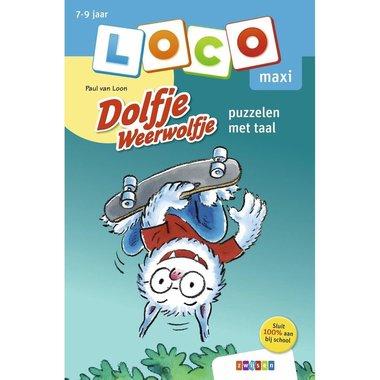 Loco Maxi Boekje - Dolfje Weerwolfje: Puzzelen met taal