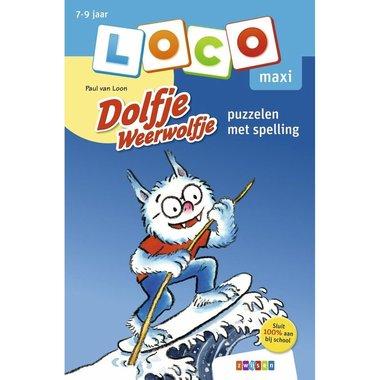 Loco Maxi Boekje - Dolfje Weerwolfje: Puzzelen met spelling