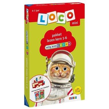 Loco Mini Pakket - Veilig Leren Lezen Kern 1-6