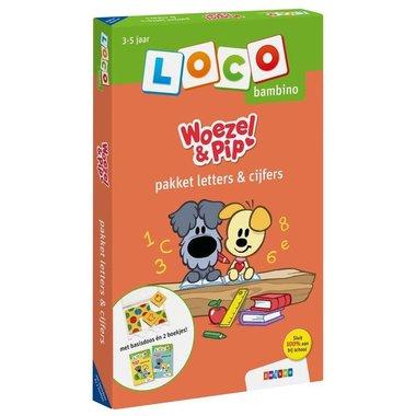 Loco Bambino Pakket - Woezel & Pip: Letters & Cijfers
