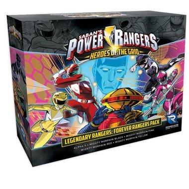Power Rangers: Heroes of the Grid - Legendary Rangers: Forever Rangers Pack
