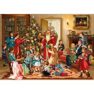 Victorian Christmas - Houten Puzzel (40)