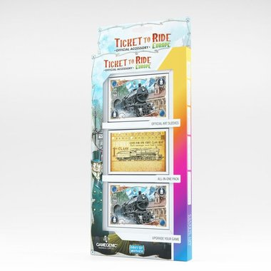 Ticket to Ride Europa: Art Sleeves