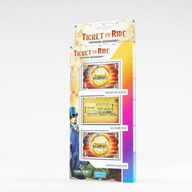 Ticket to Ride: Art Sleeves