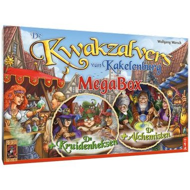 [PRE-ORDER] De Kwakzalvers van Kakelenburg Megabox