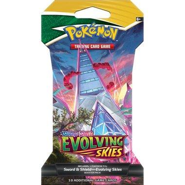 Pokémon: Sword & Shield - Evolving Skies (Sleeved Booster)