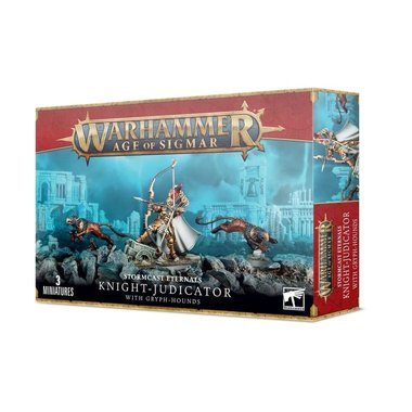 Warhammer: Age of Sigmar - Stormcast Eternals: Knight-Judicator with Gryph-Hounds