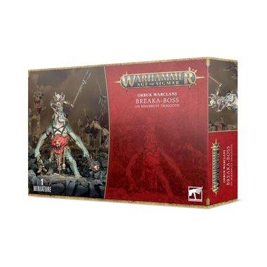 Warhammer: Age of Sigmar - Orruk Warclans: Breaka-Boss on Mirebrute Troggoth
