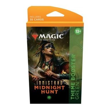 MTG: Innistrad Midnight Hunt - Theme Booster (Green)