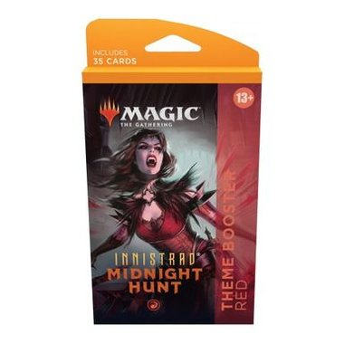 MTG: Innistrad Midnight Hunt - Theme Booster (Red)