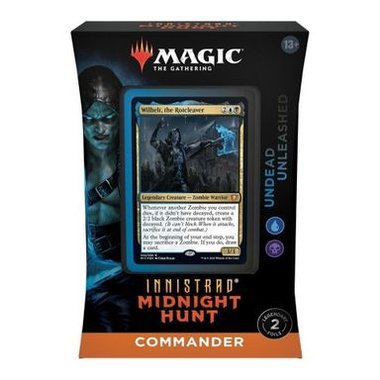 MTG: Innistrad Midnight Hunt - Commander Deck (Undead Unleashed)