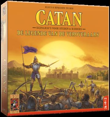 [LICHT BESCHADIGD] Catan: De Legende van de Veroveraars (Scenario's van Steden en Ridders)