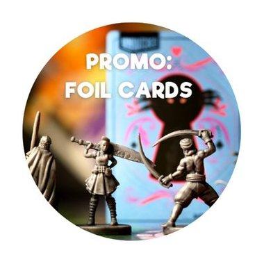 Unmatched: Promo Foil Cards
