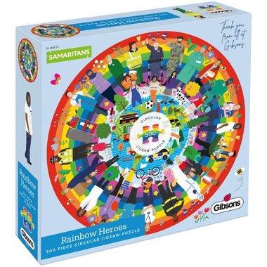 [LICHT BESCHADIGD] Rainbow Heroes - Puzzel (500)