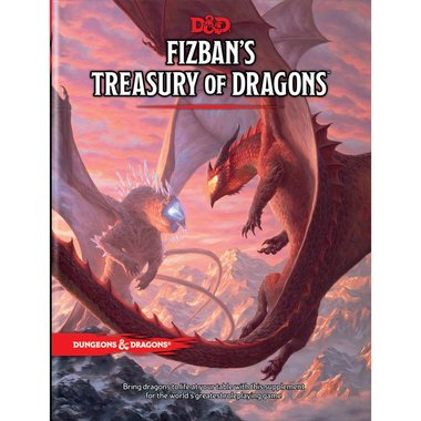 [PRE-ORDER] Dungeons & Dragons: Fizban's Treasury of Dragons