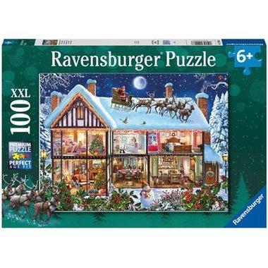 Kerstfeest thuis - Puzzel (100XXL)