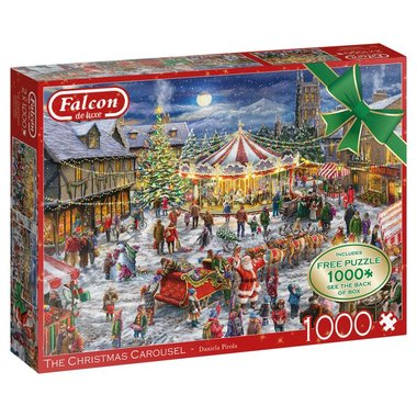 The Christmas Carousel - Puzzel (2x1000)