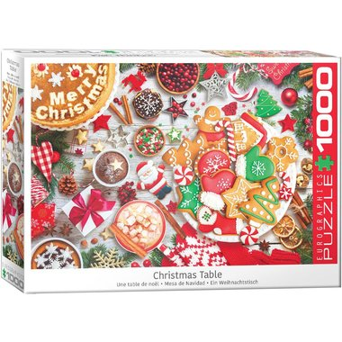 Christmas Table - Puzzel (1000)