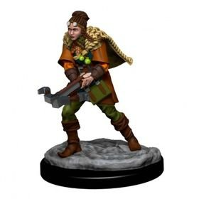 D&D Icons of the Realms: Human Ranger Female (Premium Pre-Painted Miniature)