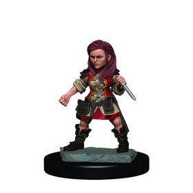 D&D Icons of the Realms: Halfling Rogue Female (Premium Pre-Painted Miniature)