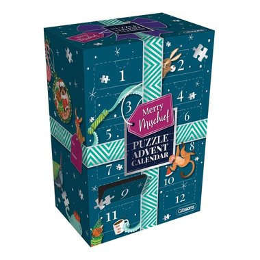 Adventskalender met legpuzzels: Merry mischief