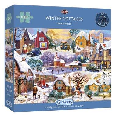 Winter Cottages - Puzzel (1000)