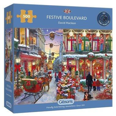Festive Boulevard - Puzzel (500)