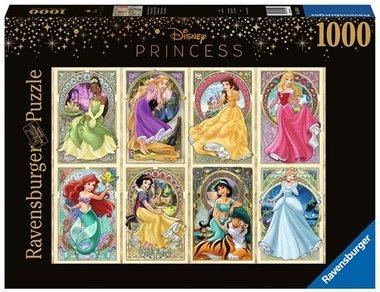 Art Nouveau Prinsessen - Puzzel (1000)