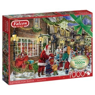 Letters for Santa - Puzzel (2x1000)